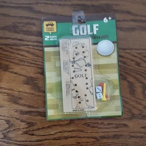 (4$25)Golf travel toy
